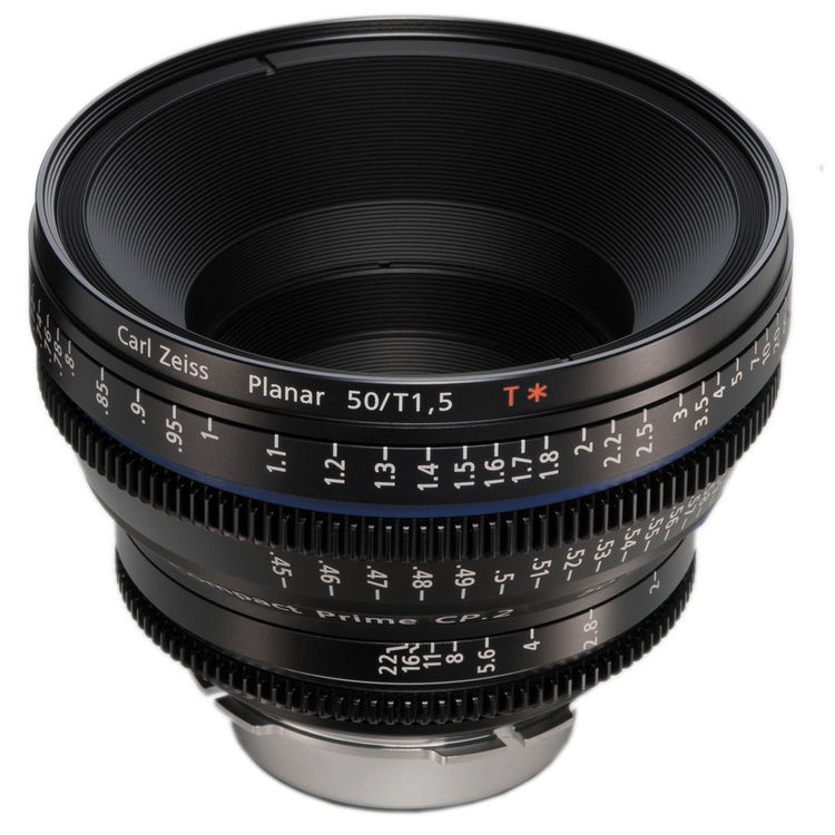 Zeiss Compact Prime CP.2 50mm/T1.5 Super Speed EF Mount