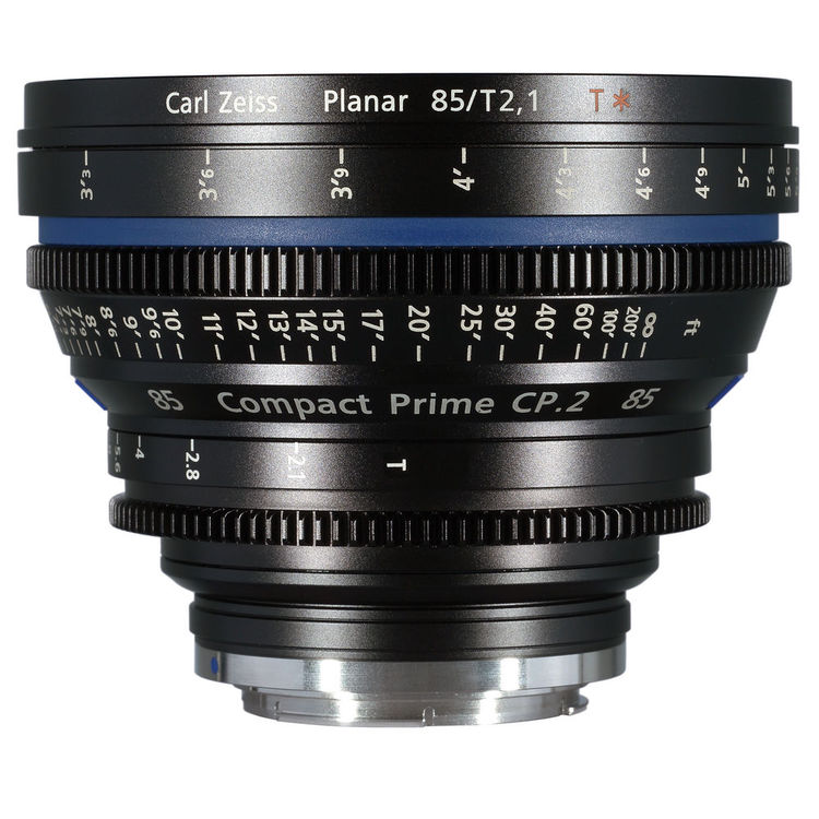 Zeiss Compact Prime CP.2 85mm/T2.1 Cine Lens (EF Mount)