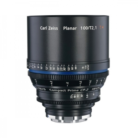Zeiss Compact Prime CP.2 100mm/T2.1 CF T* Cine Lens (EF Mount)