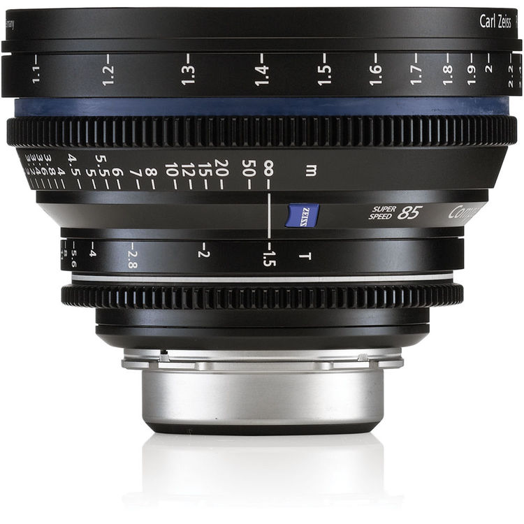 Zeiss Compact Prime CP.2 85mm/T1.5 Super Speed PL Mount
