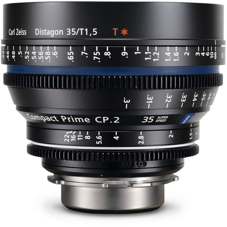 Zeiss Compact Prime CP.2 35mm/T1.5 Super Speed PL Mount