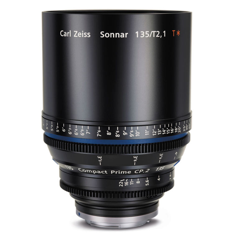 Zeiss Compact Prime CP.2 135mm/T2.1 PL Mount