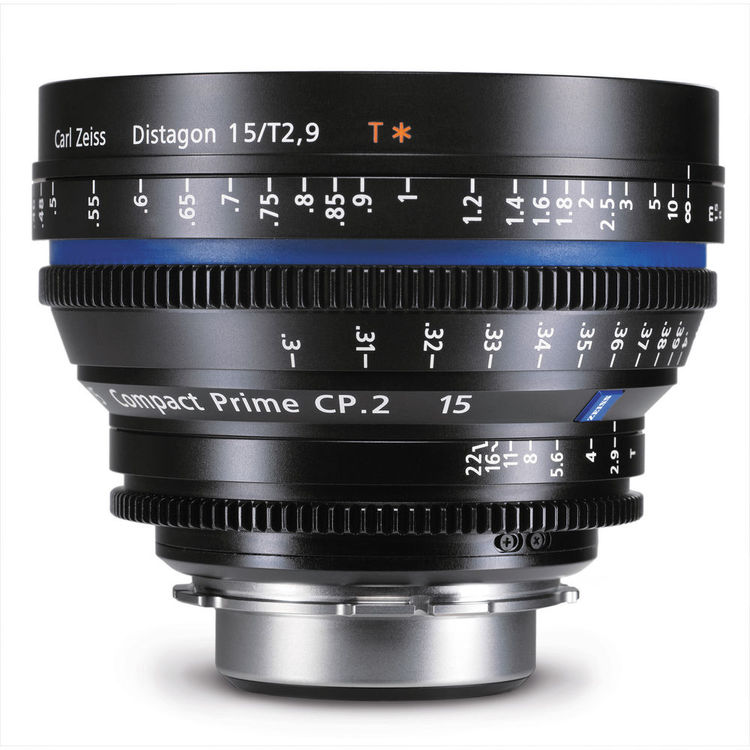 Zeiss Compact Prime CP.2 15mm/T2.9 PL Mount