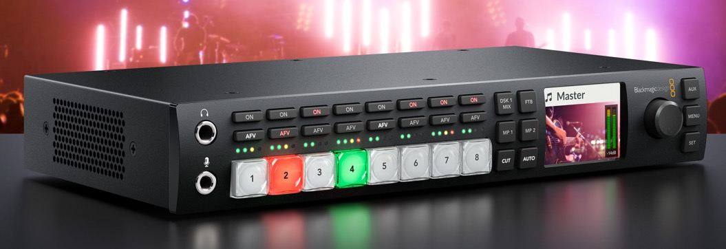 Blackmagic NEW VERSION ATEM Television Studio HD SWATEMTVSTU/HD