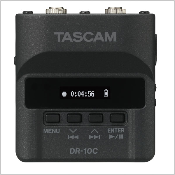 TASCAM DR-10CS  Digital Audio Recorder