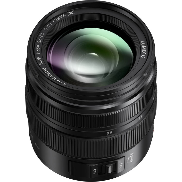 PANASONIC LUMIX G X Vario 12-35mm f/2.8 ASPH. POWER O.I.S. II (H-HSA12035)
