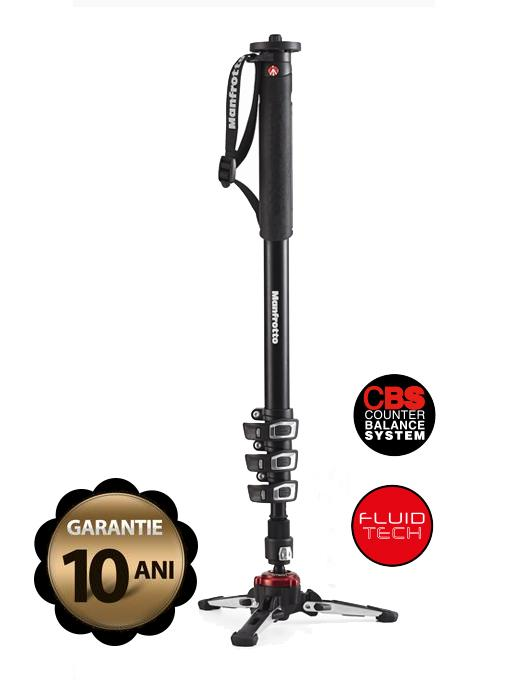 MANFROTTO MVMXPROA4 FLUID VIDEO MONOPOD