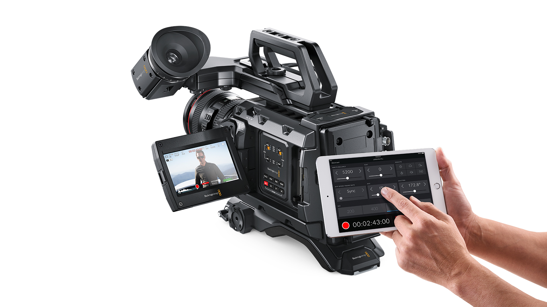 BLACKMAGIC DESIGN URSA Mini PRO 4.6K EF DIGITAL CAMERA CINEURSAMUPRO46K