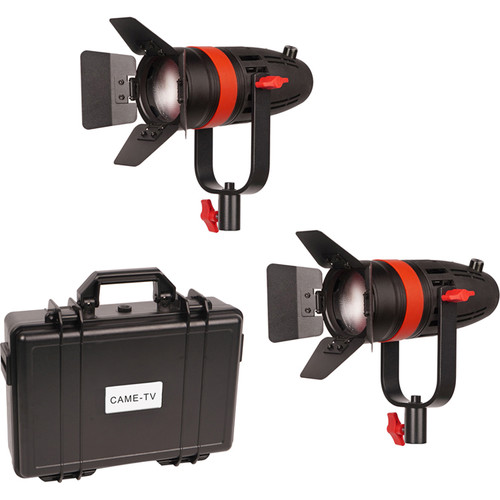 KIT 2 X CAME TV BOLTZEN 55W LED FRESNEL + HARD CASE