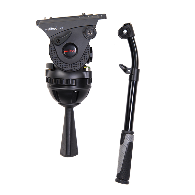 MILIBOO TOWER M15 PROFESSIONAL FLUID HEAD 15 Kg Payload / 100 mm