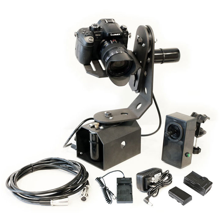 PROAM TIGERTILT MOTORIZED PAN / TILT HEAD + JOYSTICK REMOTE