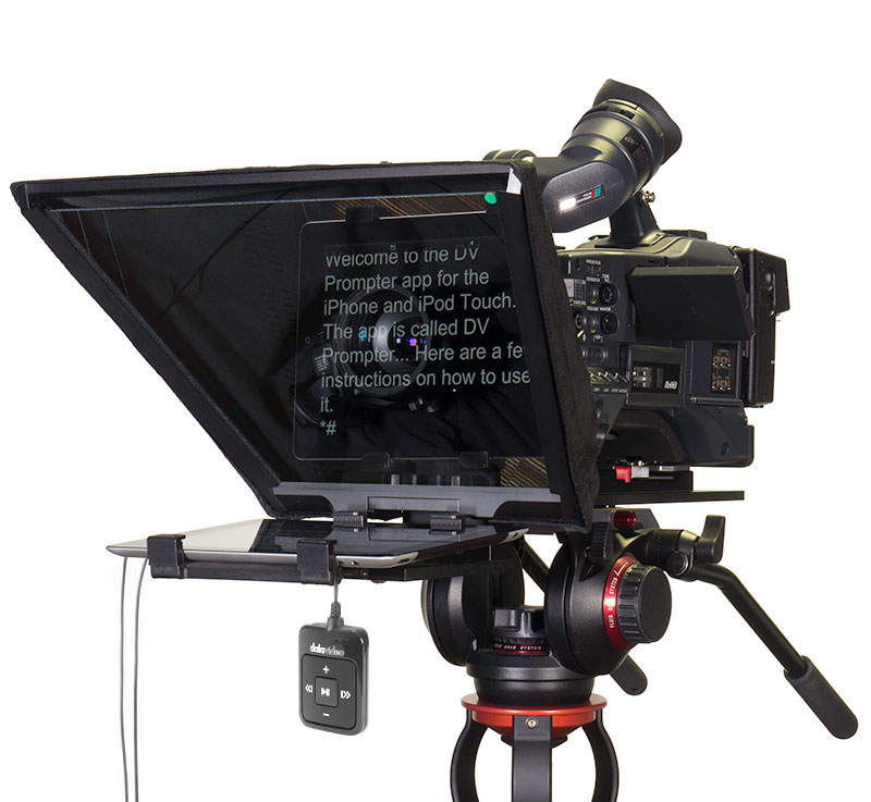 DATAVIDEO PROMPTER KIT TP-650 For iPAD and ANDROID TABLETS