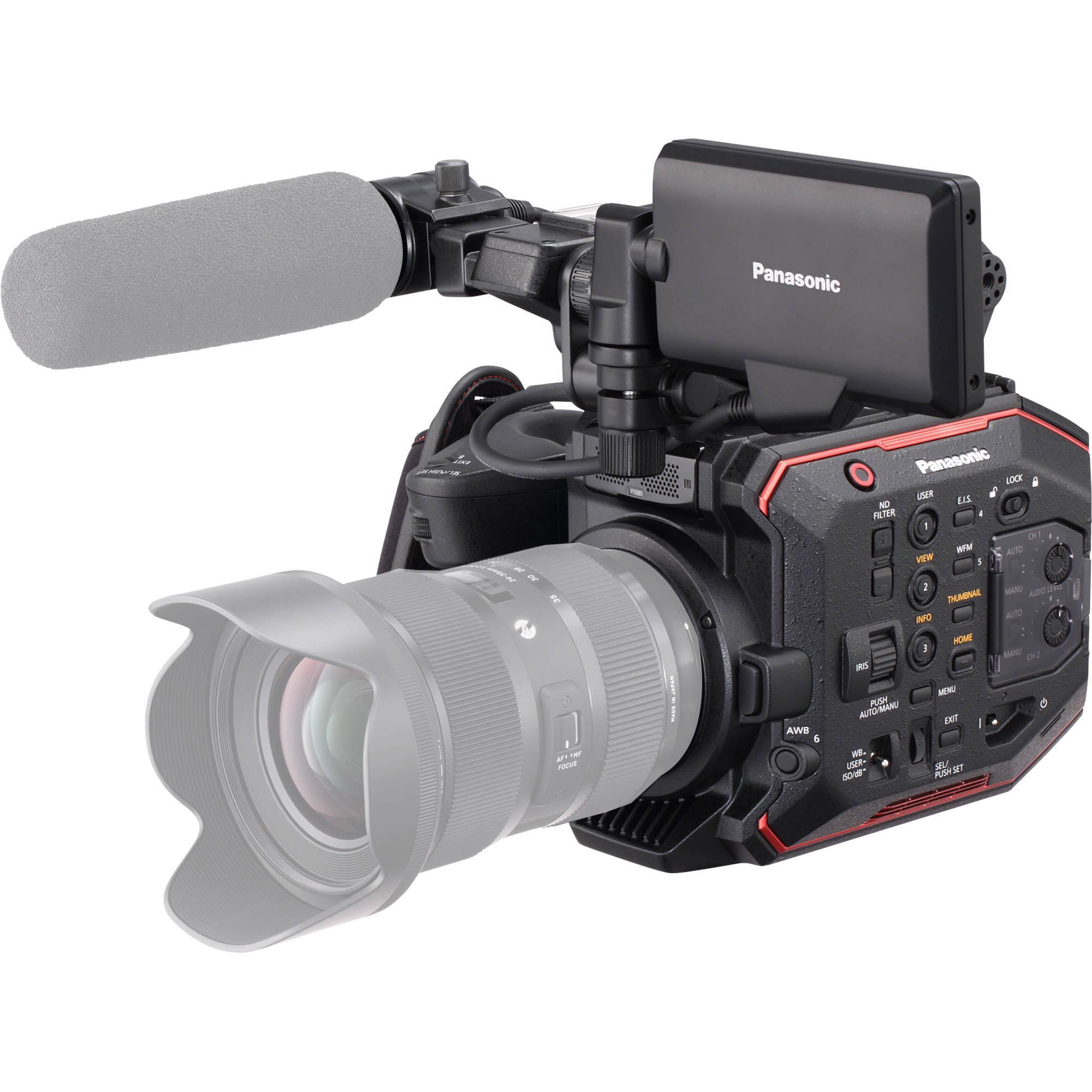 PANASONIC AU-EVA1 (EVA1) EF-MOUNT 5.7K SUPER 35mm CINEMA CAMERA BODY
