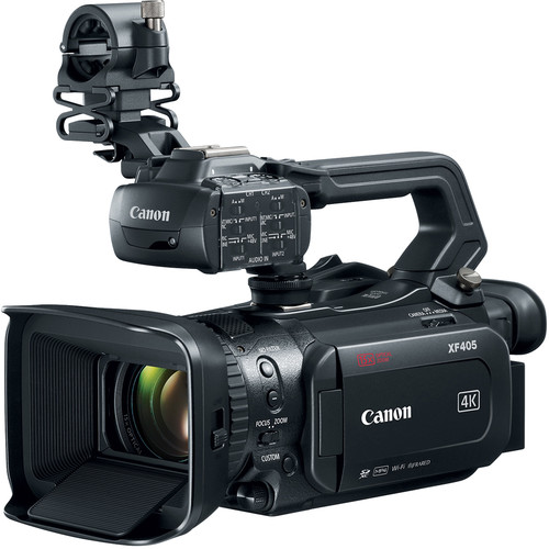 CANON XF405 4K COMPACT CAMCORDER