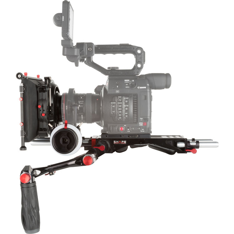 SHAPE C2KIT CANON C200 CAMERA BUNDLE RIG + FOLLOW FOCUS + MATTE BOX