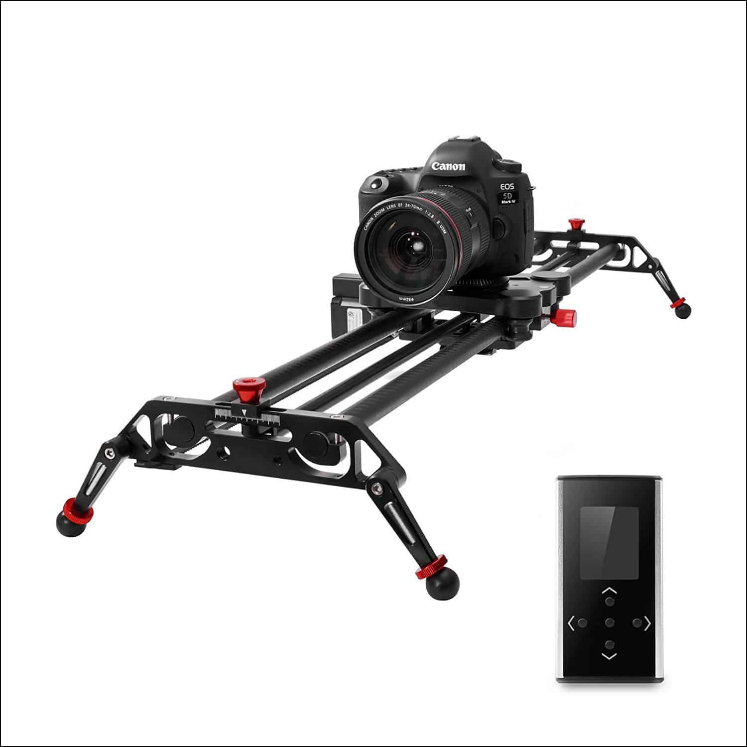GVM 32 inch Motorized Carbon Fiber SLIDER with Parallax + Time Lapse