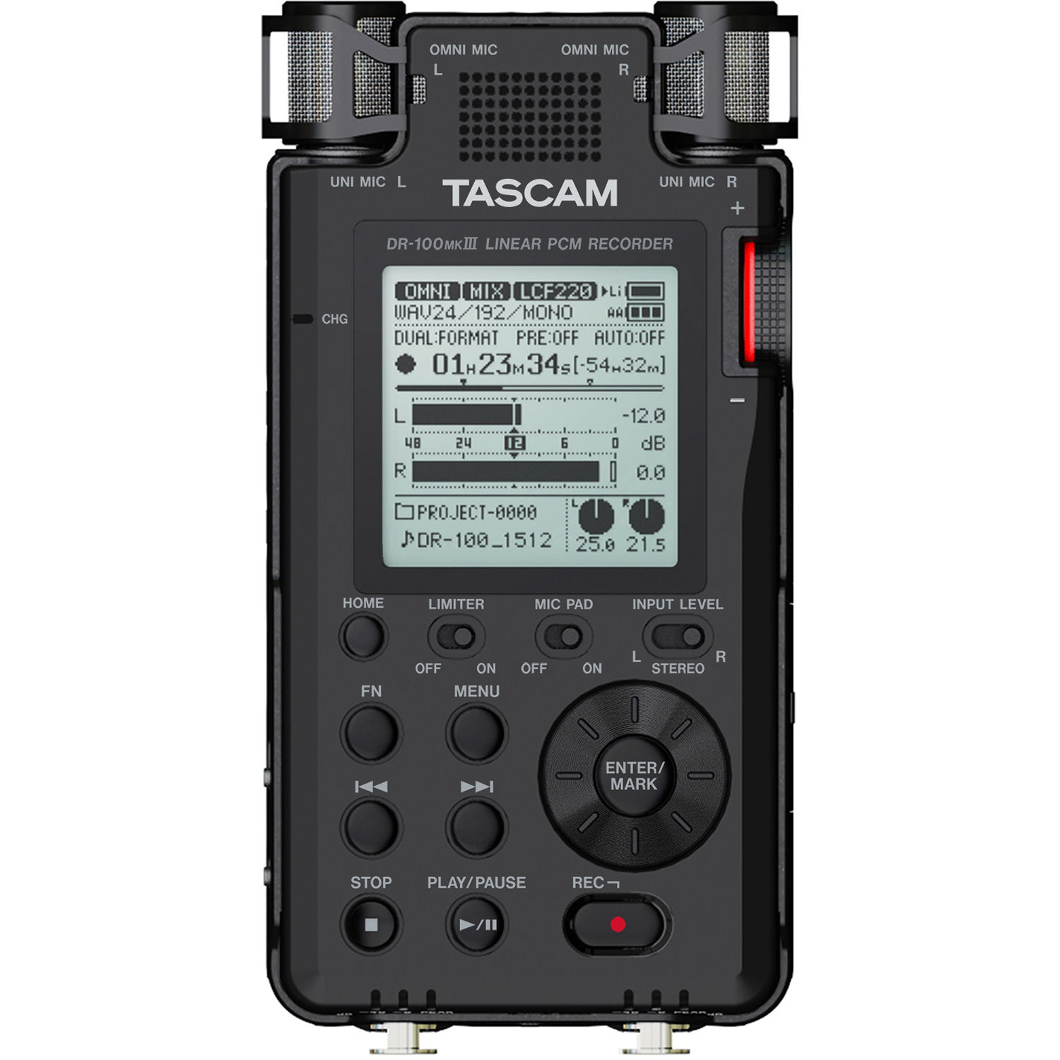 Tascam DR-100MKIII Handy Recorder