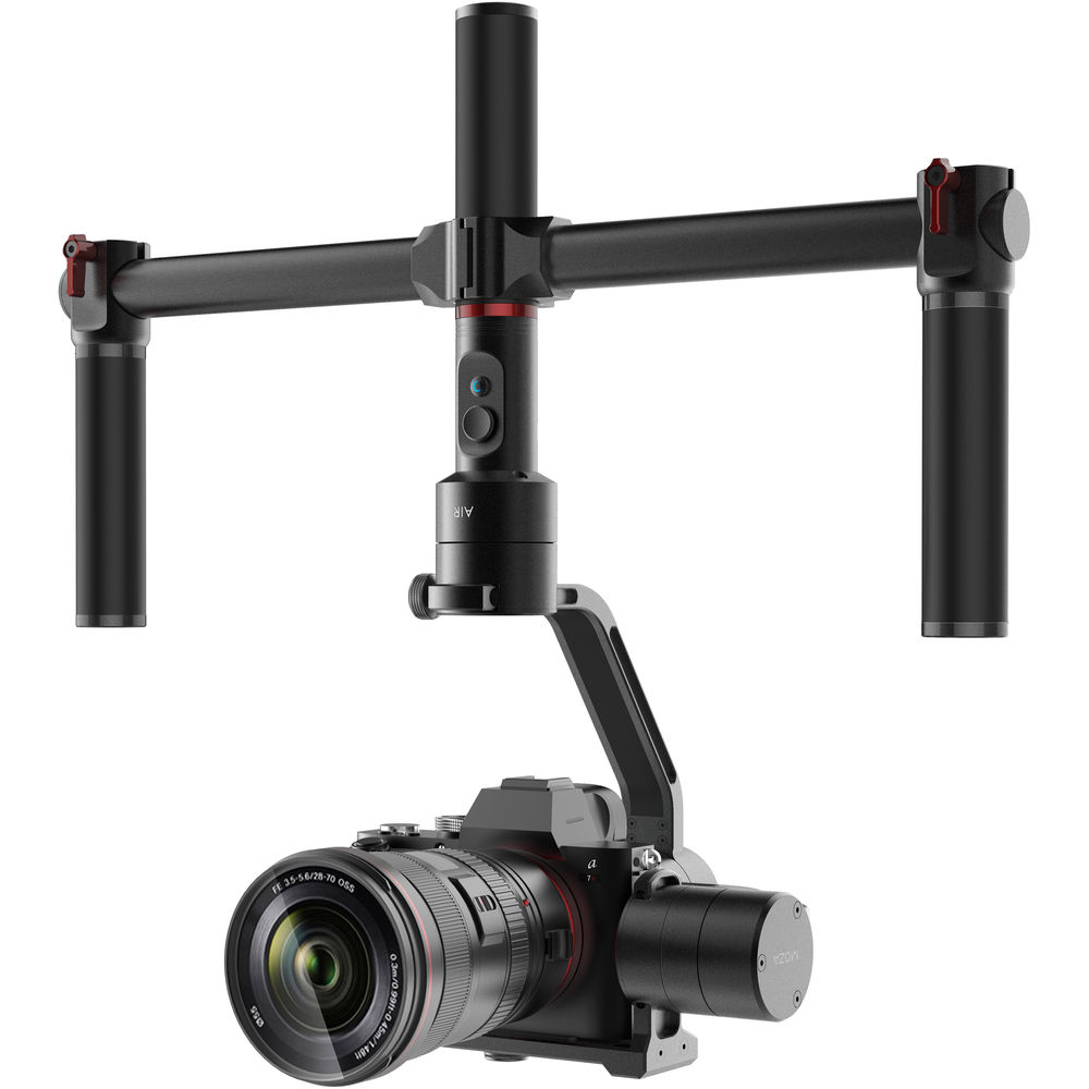 MOZA AIR Motorized Gimbal Stabilizer (3.2 kg Payload) + Dual Handle