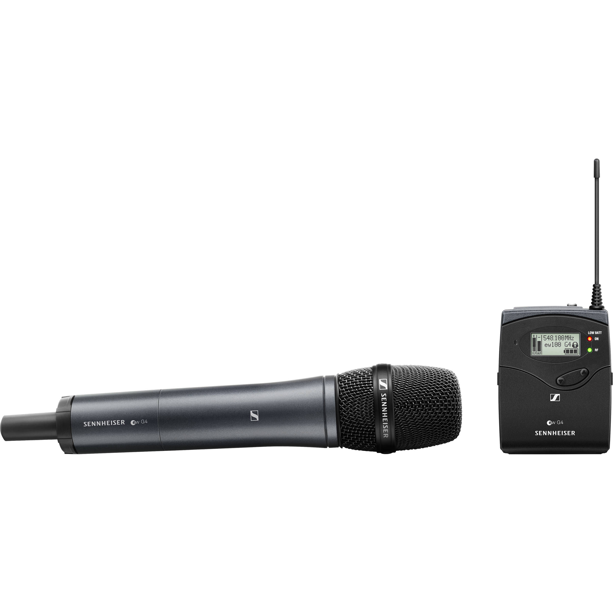 Sennheiser EW 135P G4-B Camera-Mount Wireless Microphone System (626 - 668 MHz)