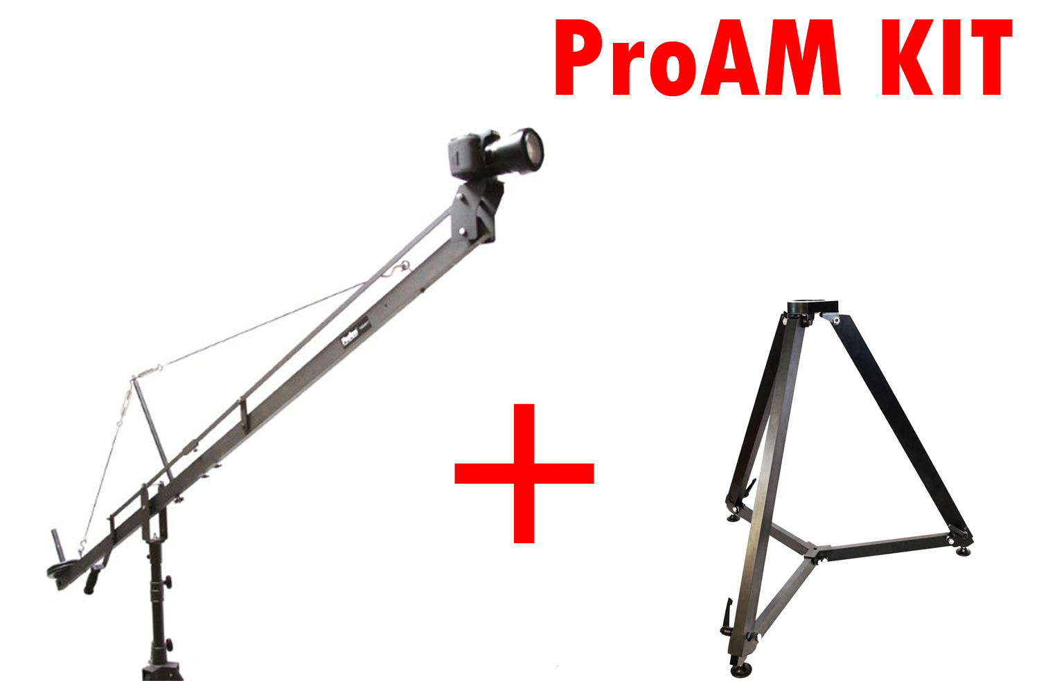 ProAm KIT ORION DVC 500 (DVC500) CRANE 3.6 M + Super Heavy-Duty Stand