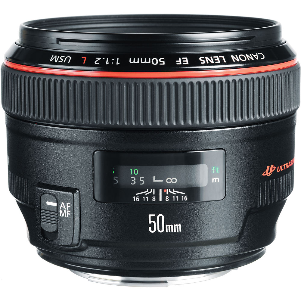 Canon EF 50mm f/1.2L LENS