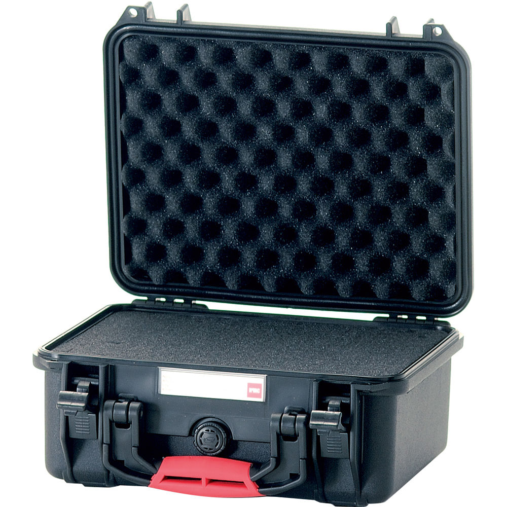 HPRC 2300 Waterproof Hard Case with Cubed Foam Interior (Black)