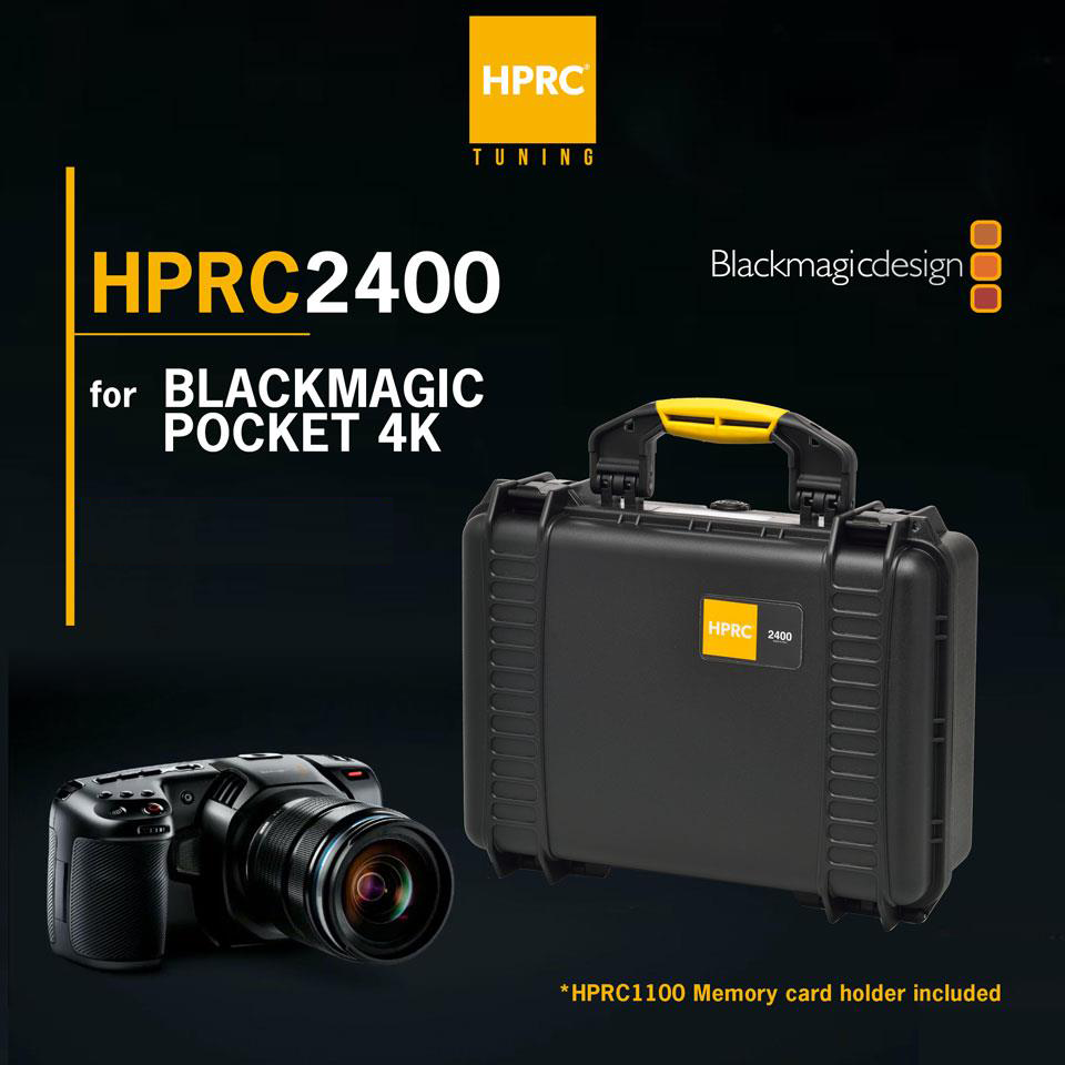 HPRC2400 Case for Blackmagic Pocket 4K/6K