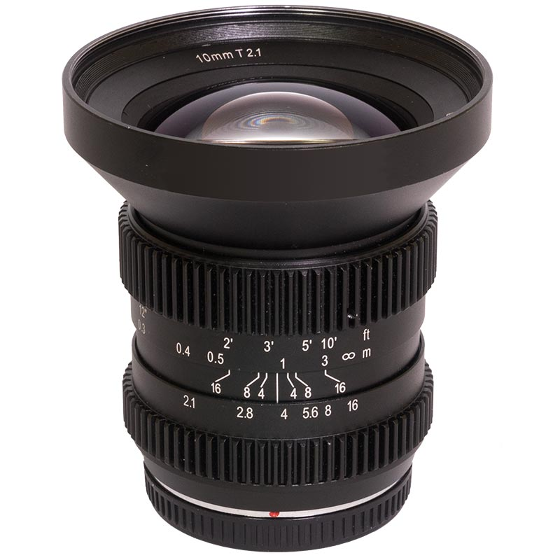SLR Magic 10mm T2.1 HyperPrime Cine Lens (MFT Mount)
