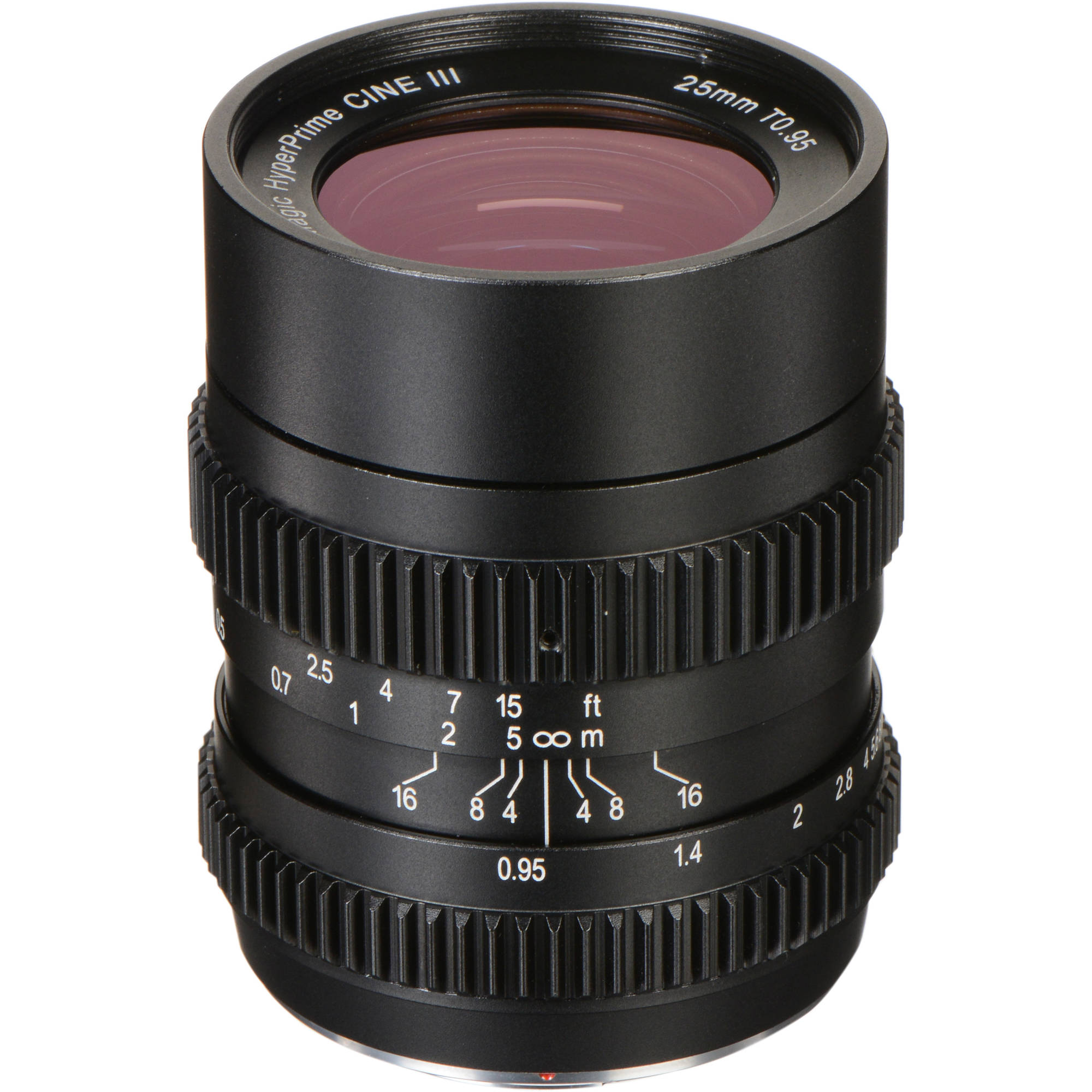 SLR Magic 25mm T0.95 HyperPrime Cine III Lens (MFT Mount)