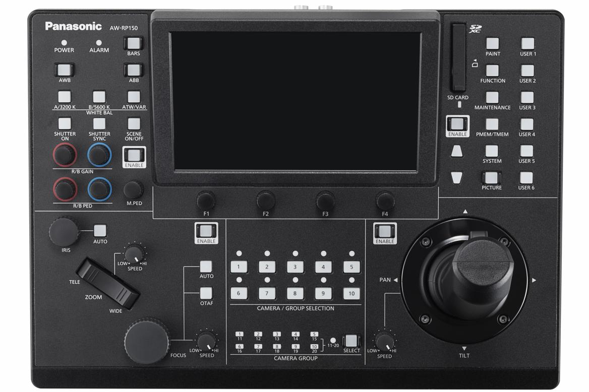 Panasonic AW-RP150GJ Remote Camera Controller with NDI