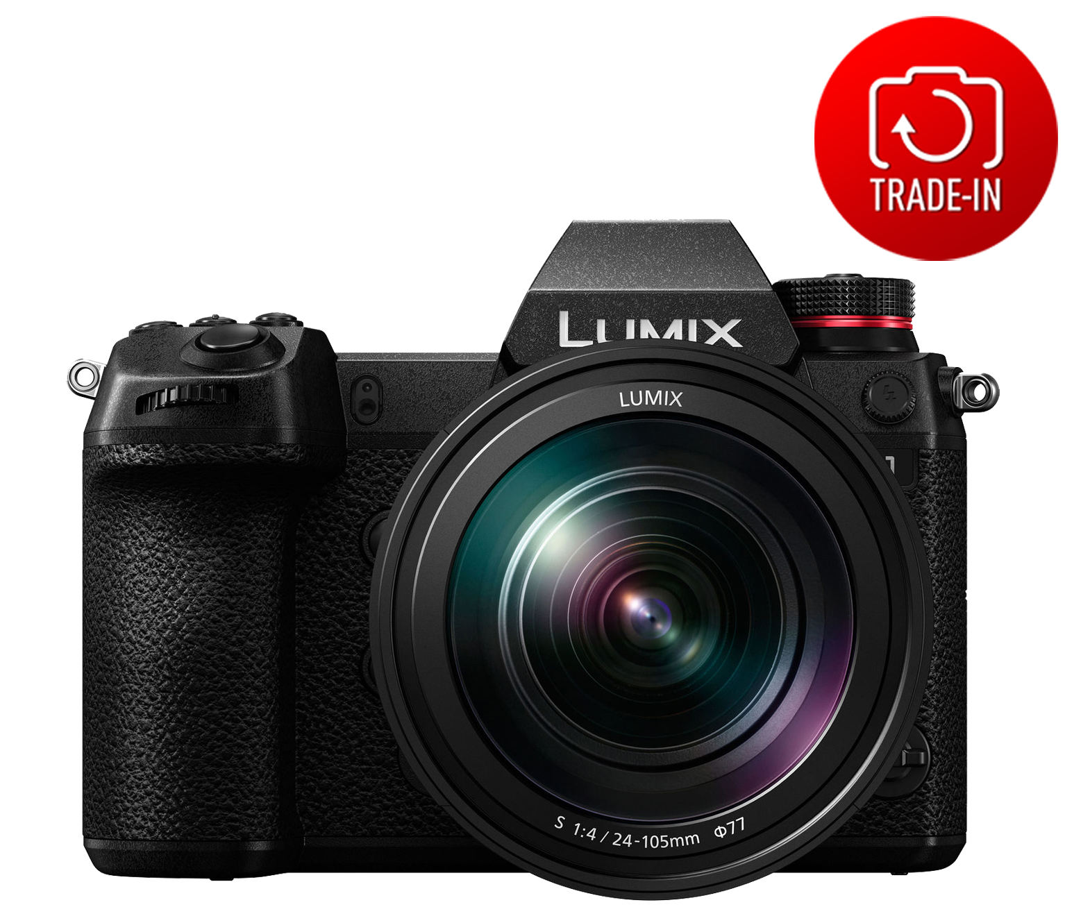 Panasonic Lumix DC-S1 (S1ME) Mirrorless Digital Camera with 24-105mm Lens