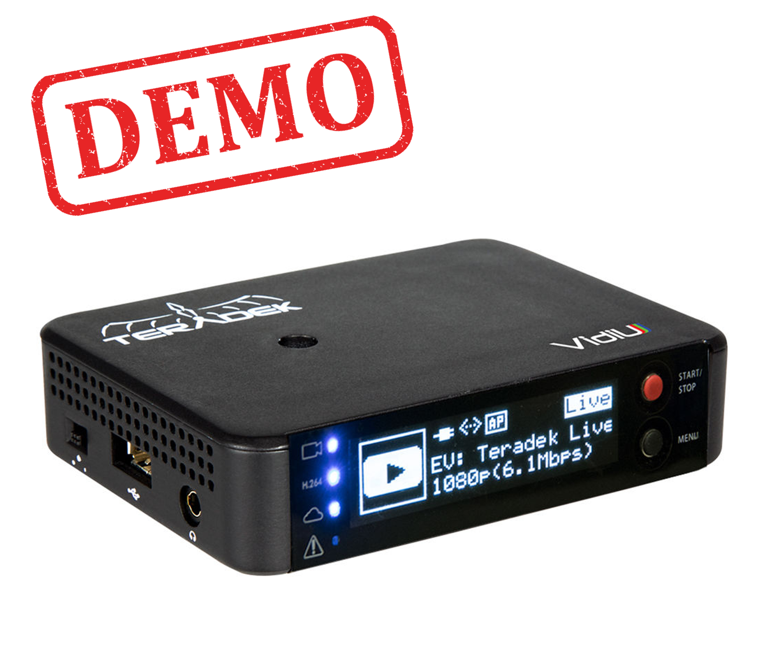 DEMO - TERADEK VIDIU ON CAMERA WIRELESS LIVE STREAMING VIDEO ENCODER