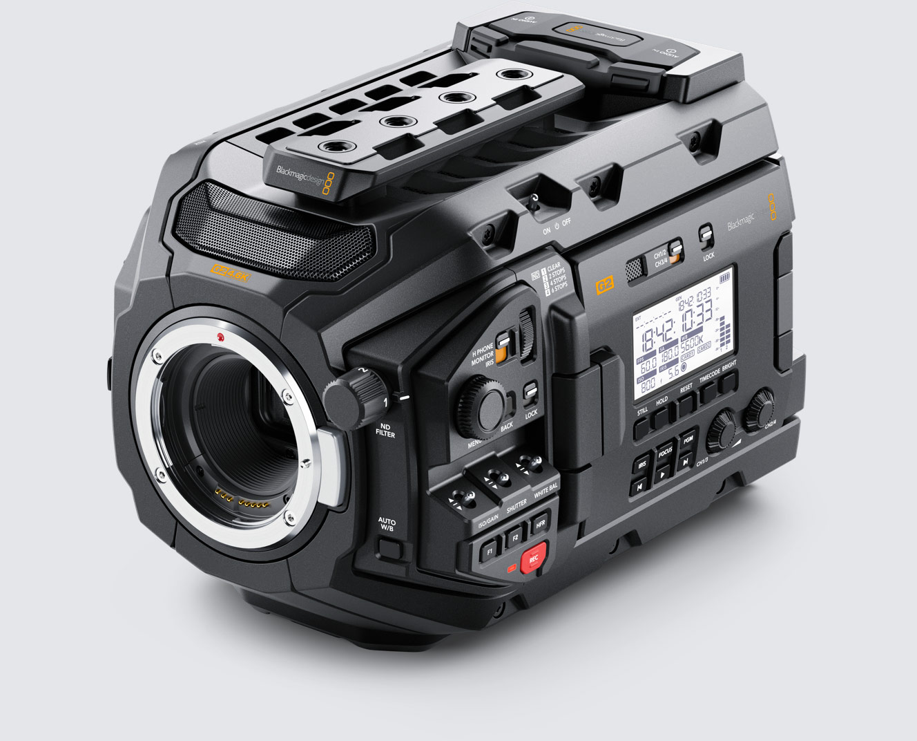 Blackmagic Design URSA Mini Pro G2 4.6K Digital Cinema Camera