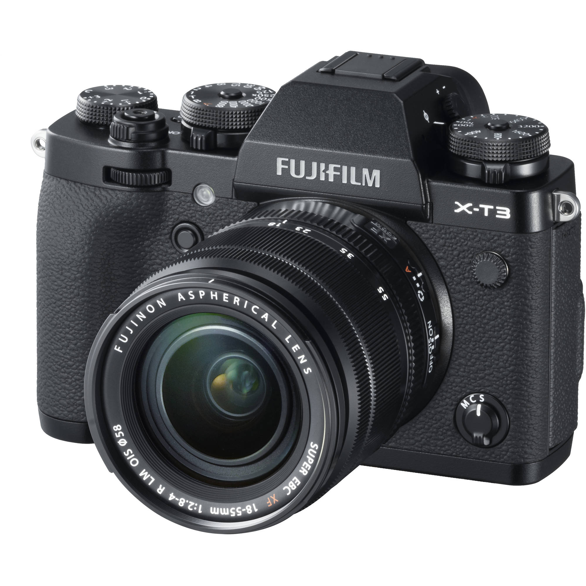 FUJIFILM X-T3 Mirrorless Digital Camera KIT 18-55mm Lens (Black)