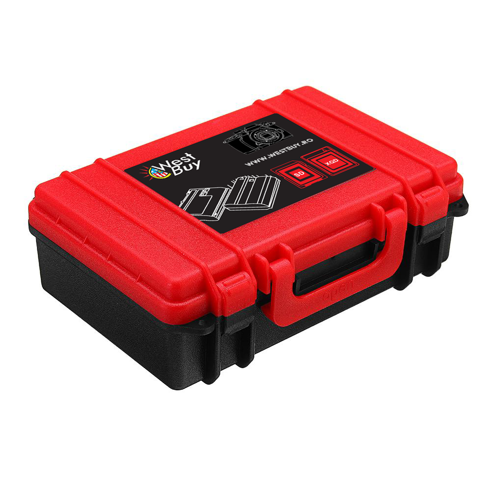 Camera Battery and Memory Card Storage Case