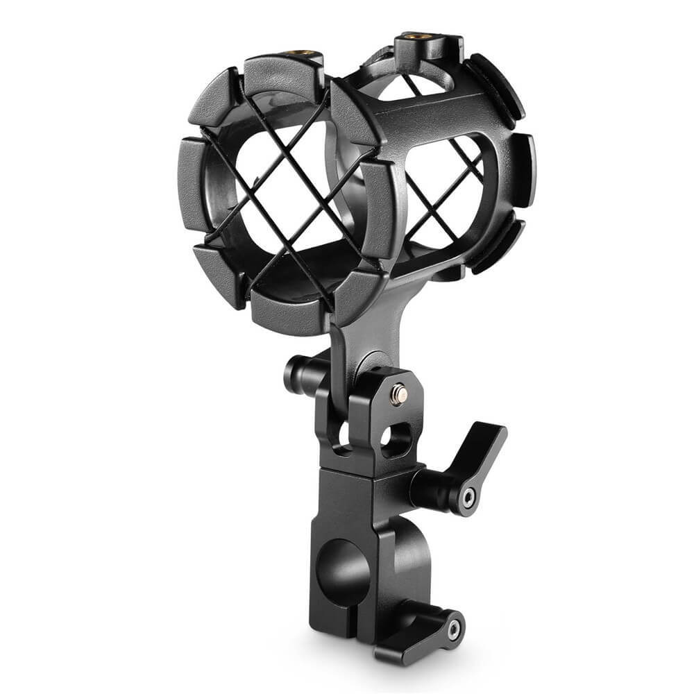 SmallRig Microphone Support with 15mm Rod Clamp 1802