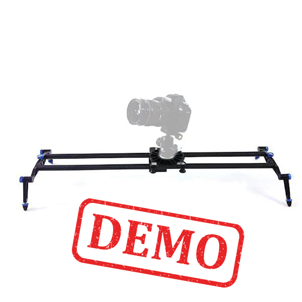 DEMO - WIELDY EP-6200 ULTRALIGHT CARBON FIBER VIDEO SLIDER 6 BEARINGS / 80cm + BAG