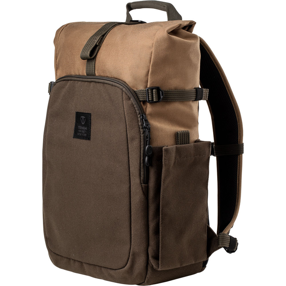 Tenba Fulton 14L Backpack (Tan and Olive)