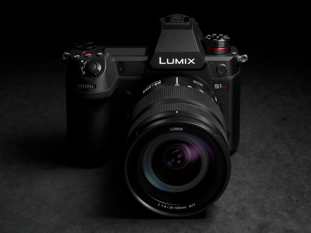 Panasonic Lumix S1H (DC-S1HE) Mirrorless Digital Camera (Body)