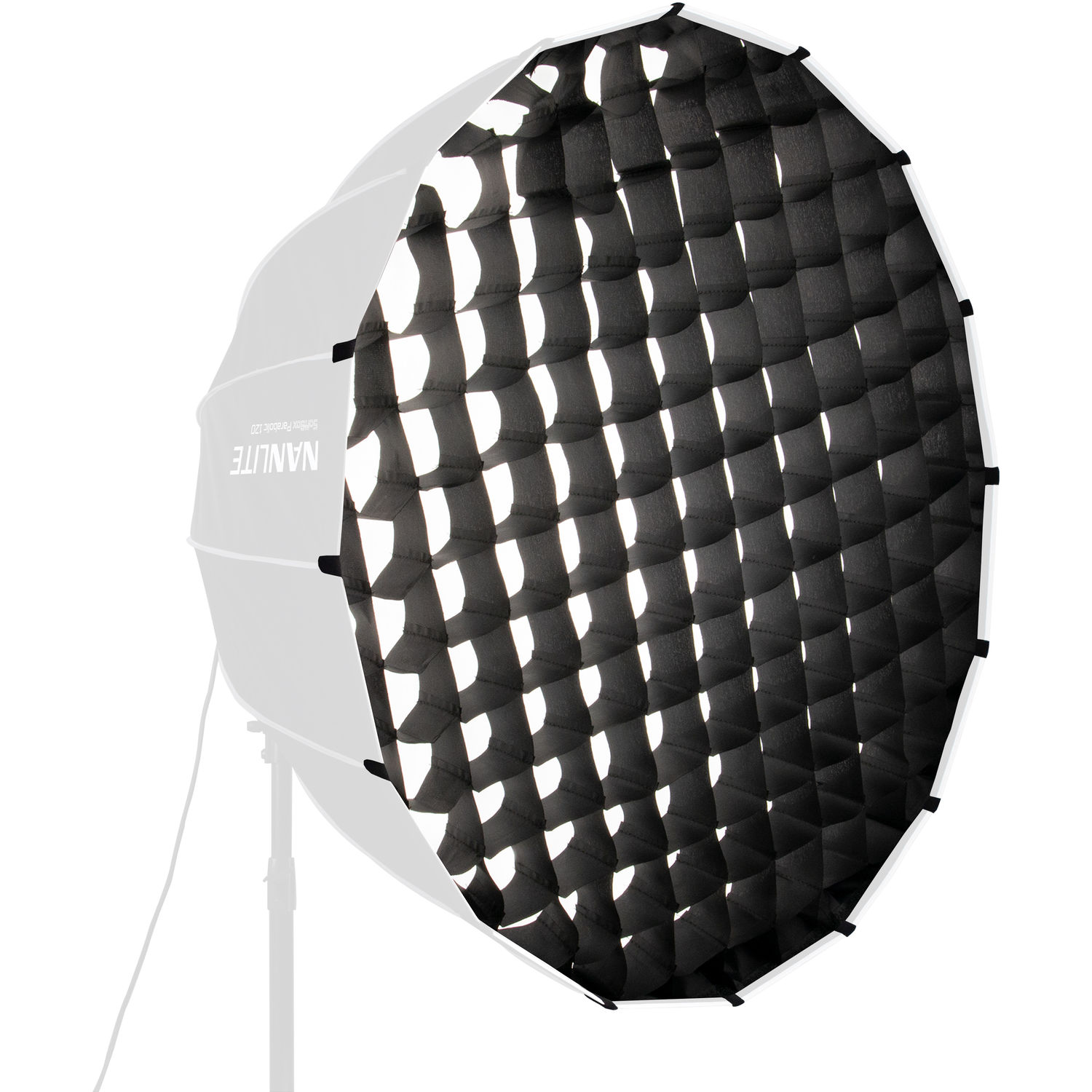 Nanlite EC-PR120 Fabric Grid for Parabolic Light Dome Softbox 120cm