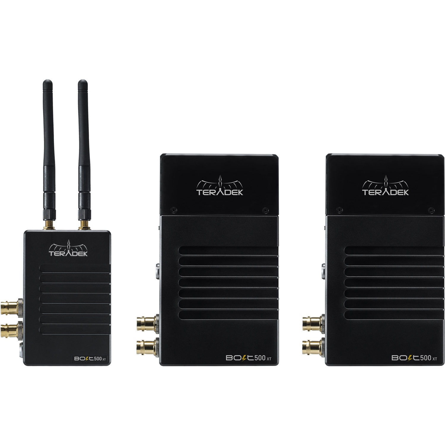 Teradek Bolt 500 XT 3G-SDI/HDMI Wireless Transmitter and 2 x Receiver Set