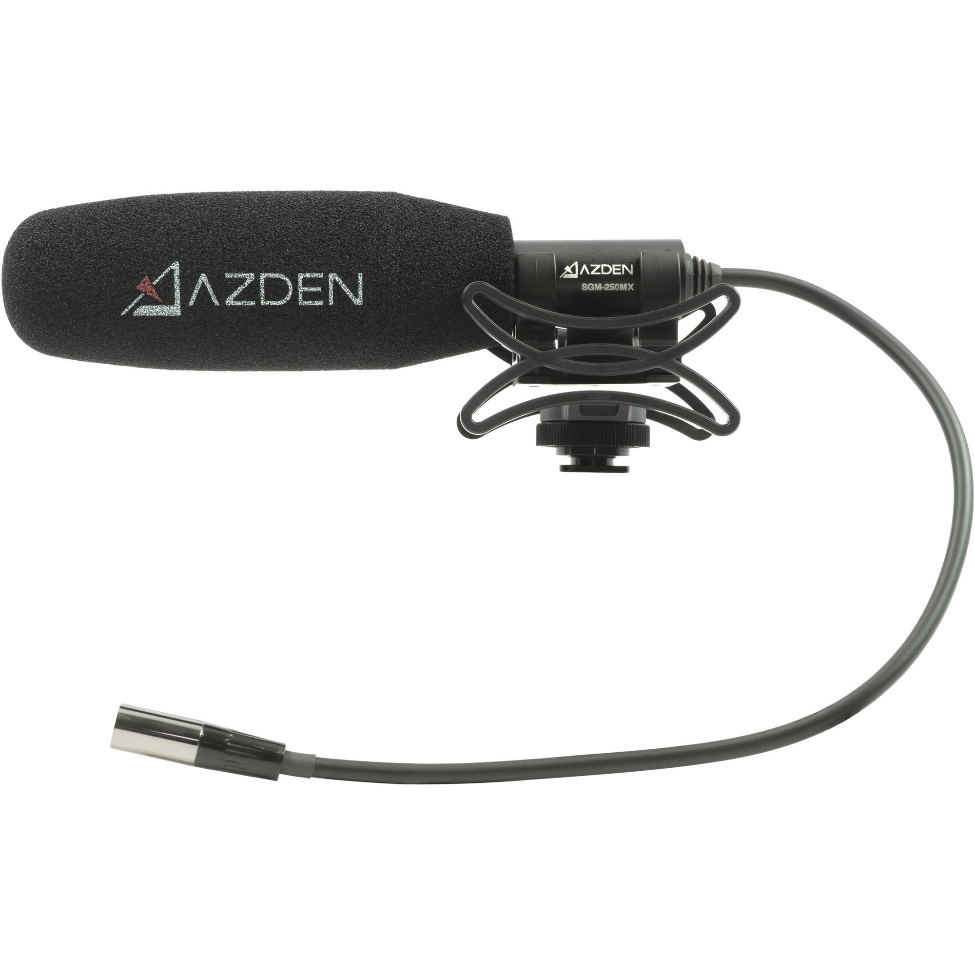 Azden SGM-250MX Compact Shotgun Microphone for Blackmagic Pocket Cinema Camera 4K / 6K
