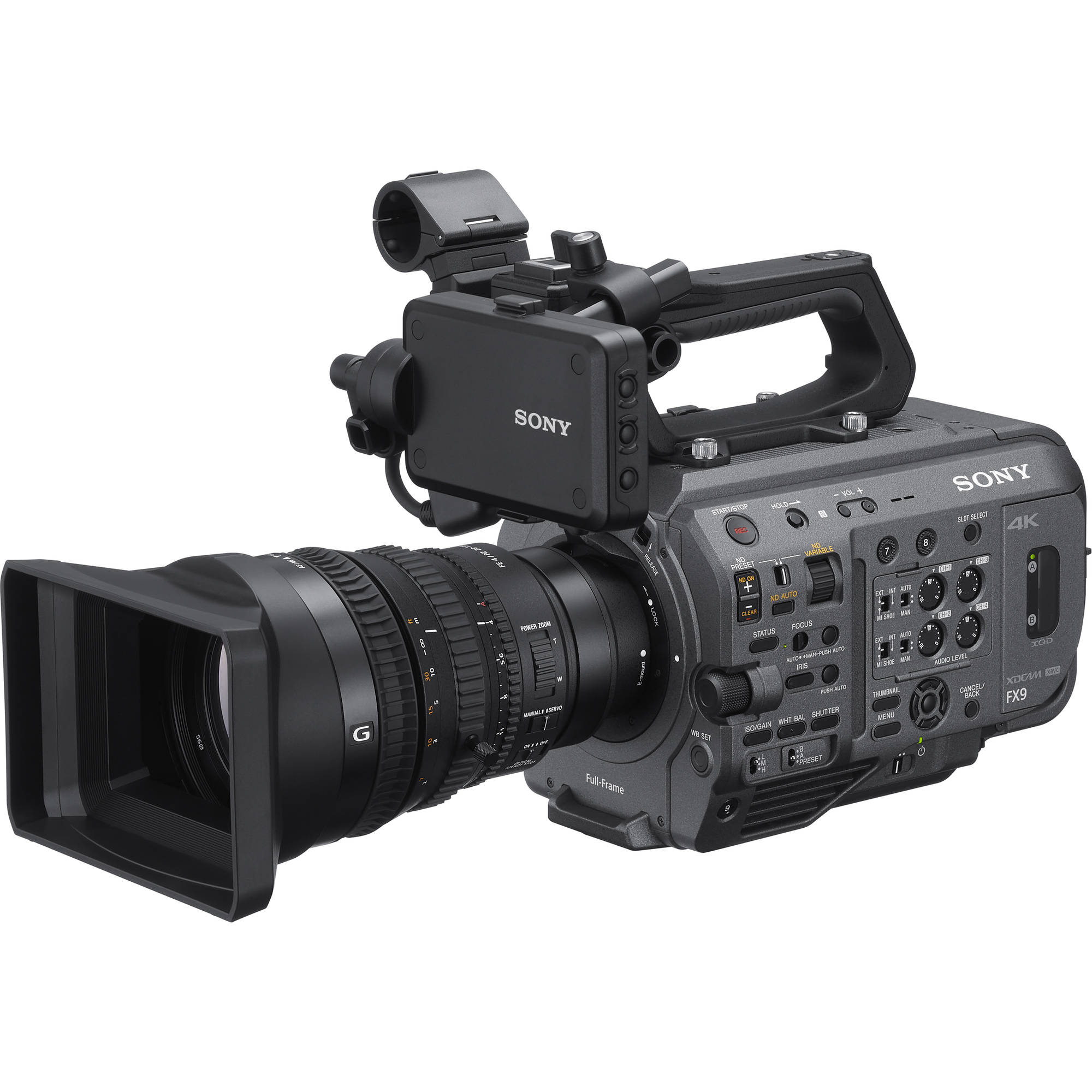 Sony PXW-FX9 XDCAM Full Frame 6K Sensor & 4K Recording with 28-135mm f/4 G OSS Lens