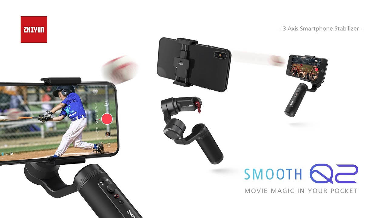 Zhiyun-Tech Smooth-Q2 Ultra-portable Smartphone Gimbal