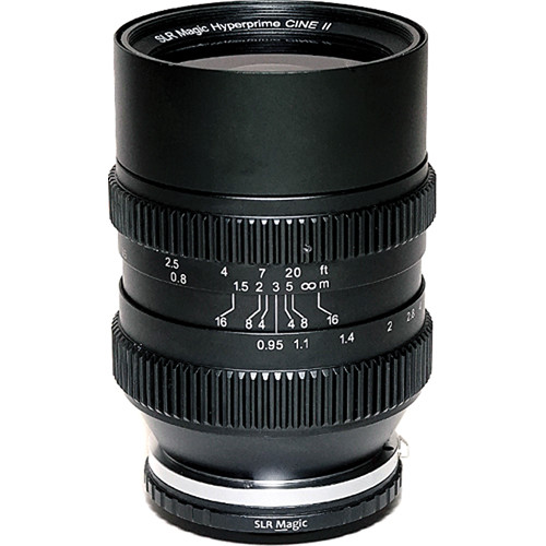 SLR Magic 35mm T0.95 Hyperprime Cine II Lens - Sony E Mount