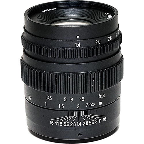 SLR Magic 35mm T1.4 CINE II Lens - E Mount