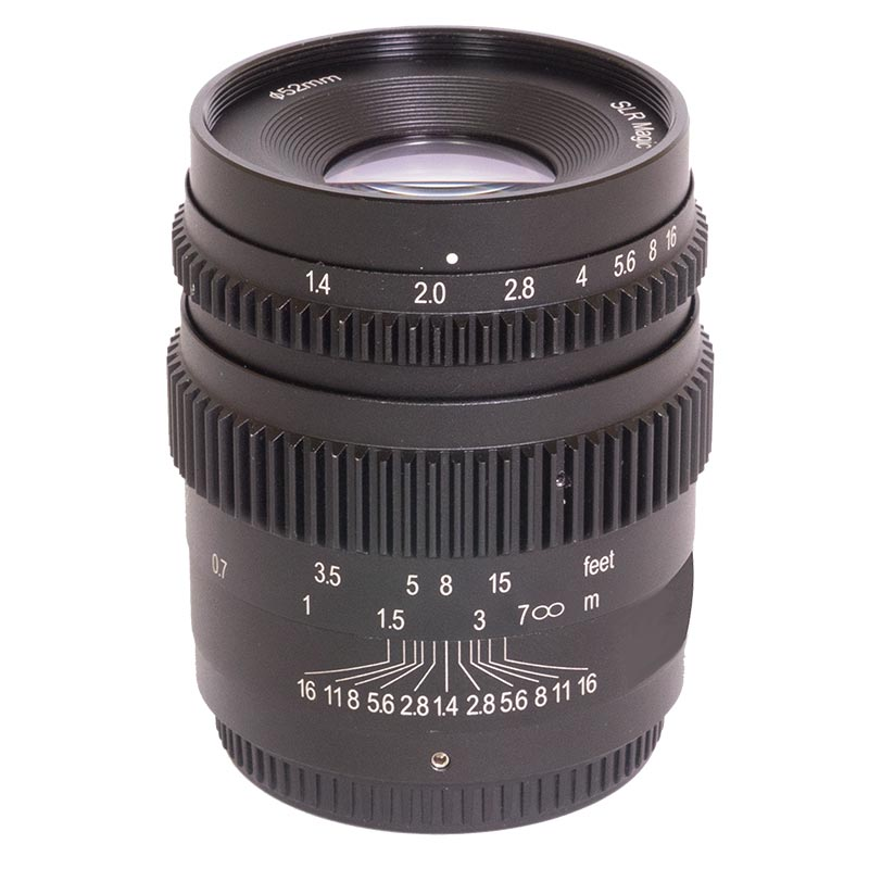 SLR Magic 35mm T1.4 CINE II Lens - MFT Mount