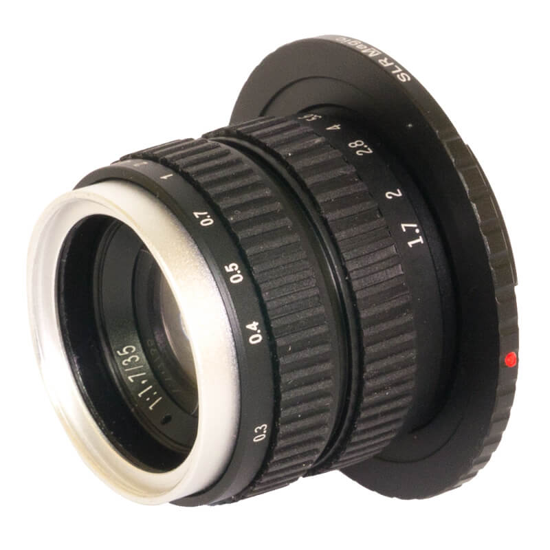 SLR Magic 35mm f1.7 Lens - E Mount APSC