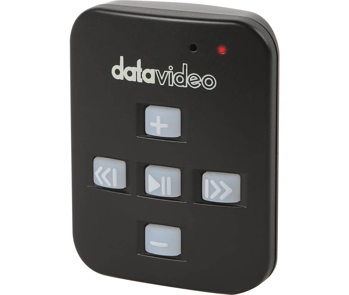 Datavideo WR-500 Bluetooth Teleprompter Remote Control for TP-150, TP-300, TP-500, TP-600