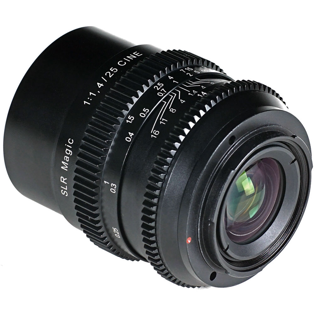 SLR Magic 25mm Cine f1.4 Lens (Sony E-Mount)